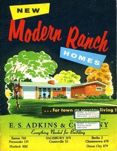 New Modern Ranch Homes!