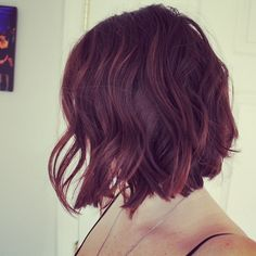 Love this cut and color.