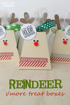 S'more Reindeer Treat Box