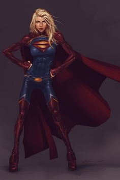 Supergirl by ash7croft *