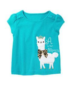 Alpaca Princess Short Sleeve Tee