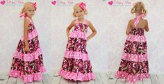 Julia's Twirly Maxi Dress Pattern by Create Kids Couture