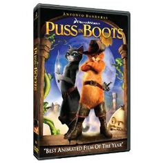 """Puss in Boots"" : Animated Feature Film"