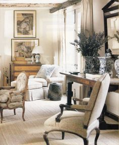 Dan Carithers & Architect Norman Askins, Virginia Country House. Southern Accents