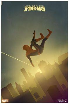 FAN ART: Three Minimalist Posters For THE AMAZING SPIDER-MAN