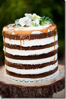 Rustic Cake.