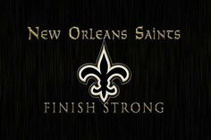 New Orleans Saints Finish Strong