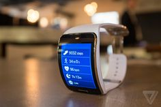 #Samsung #GearS: wearing the most powerful smartwatch yet.