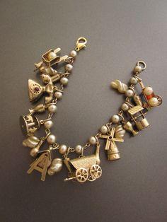 Vintage Charm Bracelet