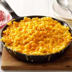 Homey Mac & Cheese Recipe from Taste of Home -- shared by Alice Beardsell of Osprey, Florida