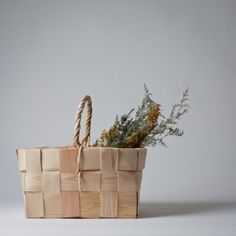 Splint Basket from Mjölk