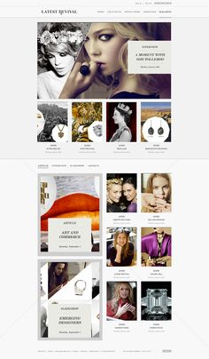 #web #design webdesign, latest reviv, web design, websit idea, amaz web, design inspir, mari, design idea, hugo