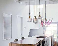 Wine decanter bottle pendant light chandelier