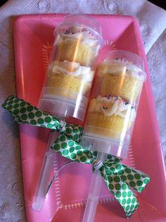 GENIUS! cupcake push-pops :)