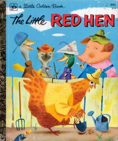 The Little Red Hen, Illustrations by J.P. Miller, 1954 (1975 edition)