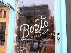 Boots Bakery branding by Karli Ingersoll