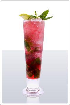 cranberry-pomegranate-mojito