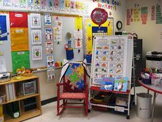 Holy Moly!  Love looking at the way people organize and set up.  Tons and tons of pictures of beautiful classrooms!