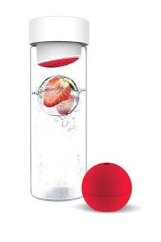 Fruit infused water bottle #fruit #water