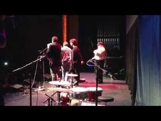 """George R.R. Martin destroys Paul and Storm's guitar while they play """"Write Like the Wind"""""""