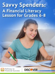 Savvy Spenders: Lesson about smart spending choices for middle school #pathwaytofinancialsuccess #discover #weareteachers