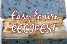 Recipes using food storage (i.e. wheat, powered eggs, milk, butter, dehydrated foods, etc.)
