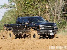 #Chevy Dmax slayin' mud!