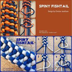 Spiny Fishtail #paracordial #paracord #bracelet