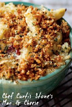 Chef Curtis Stone's Mac and Cheese to DIE FOR. :) Enjoy!