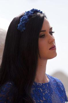 Katy Perry's flower headband