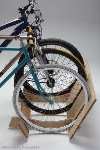 Bikerax Wooden Bike Rack $149.95 http://cyclestyle.com.au/shop/new/bikerax-wooden-bike-rack/