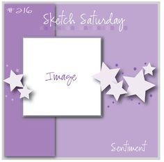 May Card Sketch Challenge - Sketch #2 - Scrapbook.com