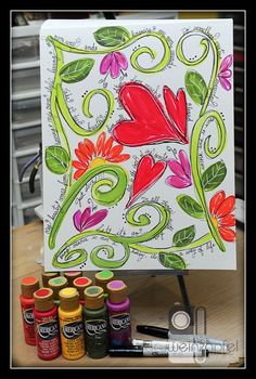 Mixed Media Monday Art Journal with Tracy Weinzapfel