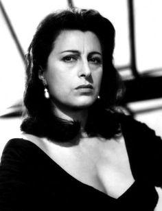 italian actress Anna Magnani