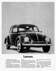 VW Beetle / Kever - Lemon
