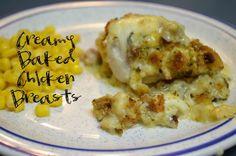 bake chicken, side dishes, breast recip, chicken breasts, creami bake