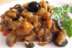 ensalada de berenjena marroqui