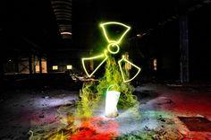 Radioactive LED LIGHT