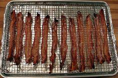 oven bake bacon, oven baked bacon, baking baking baking, cook bacon, food, breakfast, delici oven, ovenbak bacon, baking bacon