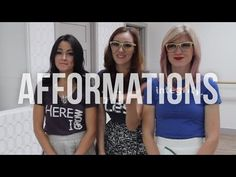 Afformations with the girls with glasses #health #mentalhealth #affirmations #meangirls #loveyourself