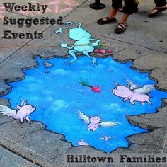 Hilltown Families' list of Weekly Suggested Events is up and pack with educational and community events happening all over Western MA!