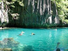 Turquoise Lagoon, El Nido, Palawan, The Philippines