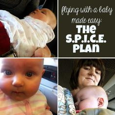 Travel with Kids: Flying With a Baby | The S.P.I.C.E packing plan for air travel with an infant by Childhood 101