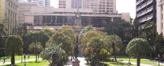 Who built the anzac square?