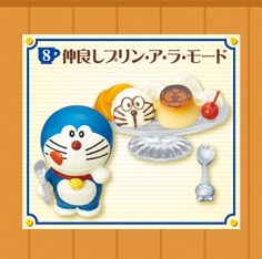 Re-Ment Miniatures - Doraemon Welcome To Café #8