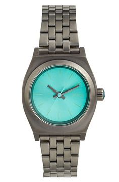 $95 Nixon 'The Small Time Teller' Bracelet Watch, 26mm | Nordstrom
