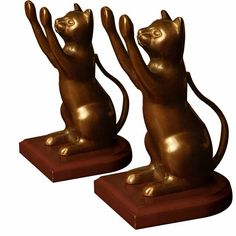 Curious Cat Bookend
