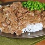 Ultimate Beef Stroganoff {Slow Cooker}