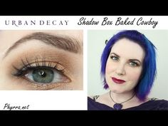 Urban Decay Fall tutorial with the Shadow Box Palette