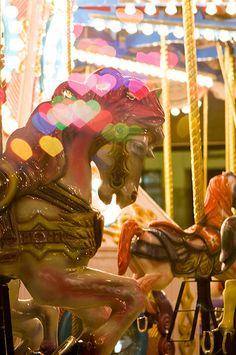 luluzinha kids ❤ parque de diversões ❤ Carousel Horse.